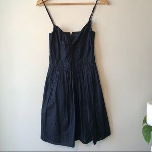 Banana Republic Cotton Navy Dress 0